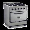 Cocina 4 hornallas fundición 800