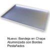 Bandejas de acero aluminizado con pestañas